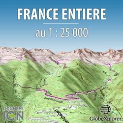 France entière - 1 : 25 000 - GlobeXplorer