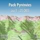 GlobeXplorer - Pack Pyrénnées - 1 : 25 000