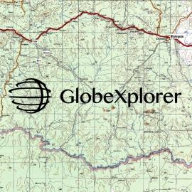 Côte d'Ivoire- 1 : 250 000 - GlobeXplorer
