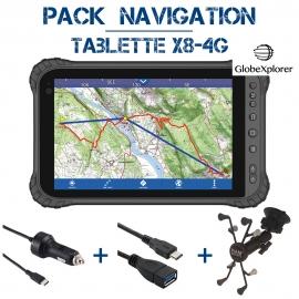 Tablette X8 4G Pack Navigation GXR