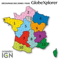 Pack 3 Zones IGN au 1 : 25 000 - GlobeXplorer