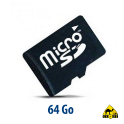 Carte micro SD - 64 Go