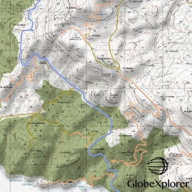 Sardaigne (Italie) - 1 : 25 000 - GlobeXplorer