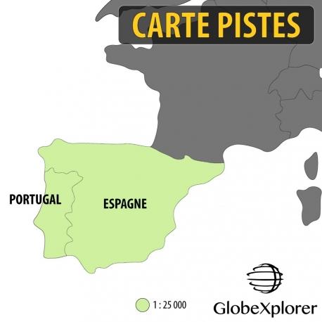 Pack Ibérique - Espagne / Portugal - 1 : 25 000 - GlobeXplorer