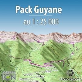 Pack Guyane - 1 : 25 000 - GlobeXplorer