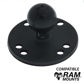 Base à visser Ronde - Compatible RAM MOUNT