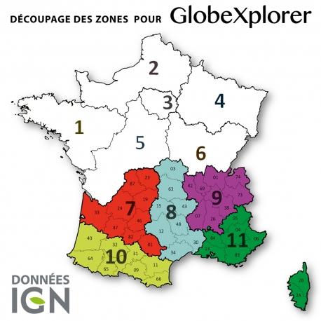 Demi France Sud 1:25 000 - GlobeXplorer