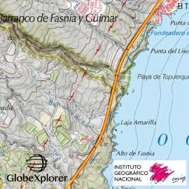 Iles Canaries (Espagne) - GlobeXplorer - 1 : 25 000