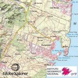 Iles Baléares (Espagne) - GlobeXplorer - 1 : 25 000